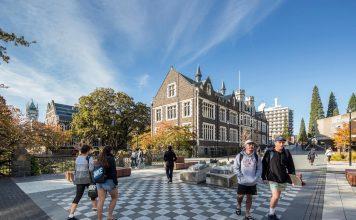 Wellington là nơi đặt cơ sở đào tạo của 3/8 trường đại học tốt nhất New Zealand